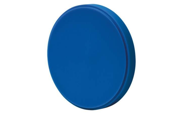 12 x CAD/CAM Fräswachsteller - 12er Set, blau