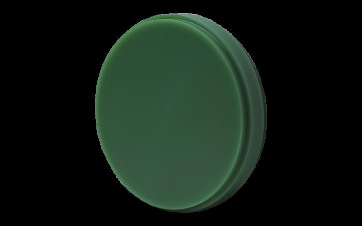 CAD / CAM Fräswachsteller grün