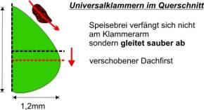 Universalklammern - lindgrün